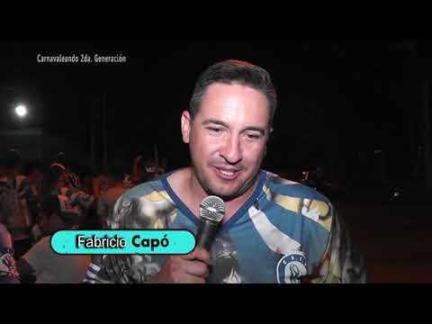 """Hoy la visita es a la escuela de samba ganadora, """"Imperio del Samba""""."""