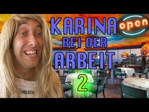 Karina bei der Arbeit - Kellnerin (Teil2)