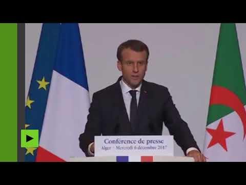 Macron en désaccord avec Trump sur le statut de Jérusalem