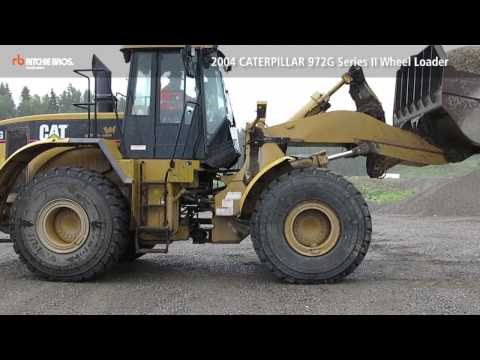 Caterpillar 972g Included In Unreserved Auction In Tampere Finland