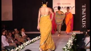 Video Indian Top Ramp Models introduce their latest collection,SATYAPAUL FASHION SHOW sequence 1 MP3, 3GP, MP4, WEBM, AVI, FLV Mei 2018