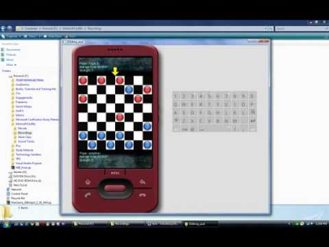 Video of Checkerzzz Lite-Checkers Game