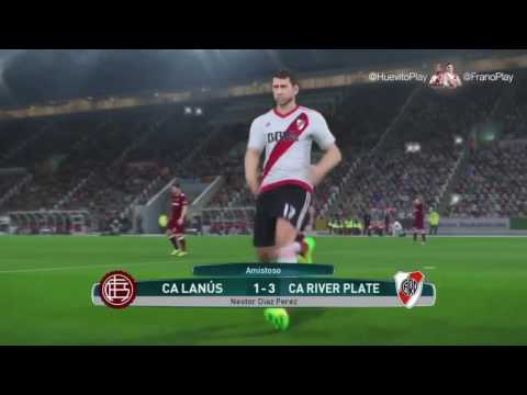 River Play - Goles vs. Lanús