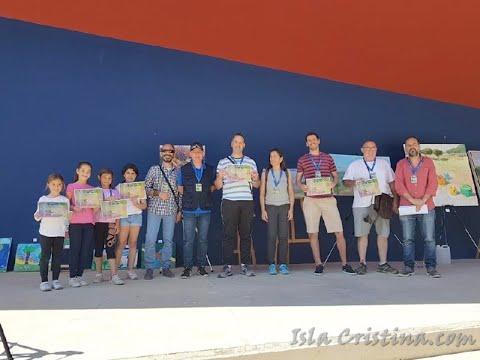 Vídeo-Resumen del V Concurso de Pintura Rápida Colores de Islantilla, celebrado en el Parque El Camaleón.