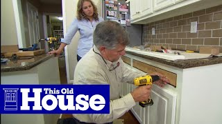 How to Install Full-Extension Cabinet Drawers - This Old House