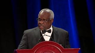 Click to play: Keynote Address by Justice Clarence Thomas - Event Audio/Video
