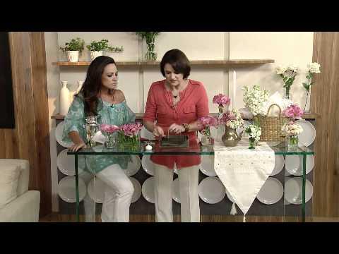 Aprenda a fazer um lindo arranjo de mesa para casamentos!