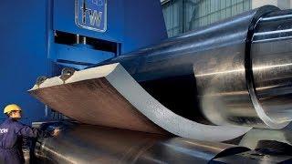 Video Amazing Biggest Steel Bending Machine At Work, Fast Extreme Large Plate Rolling Machines MP3, 3GP, MP4, WEBM, AVI, FLV Juli 2019