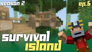 Minecraft Xbox 360: Survival Island - Season 2! (Ep.6 - Building!)