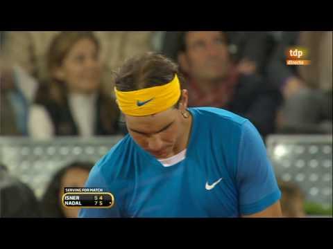 Rafa Nadal  y  John Isner
