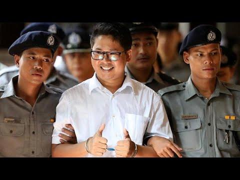 Μιανμάρ: Κάθειρξη επτά ετών σε δυο δημοσιογράφους του Reuters…