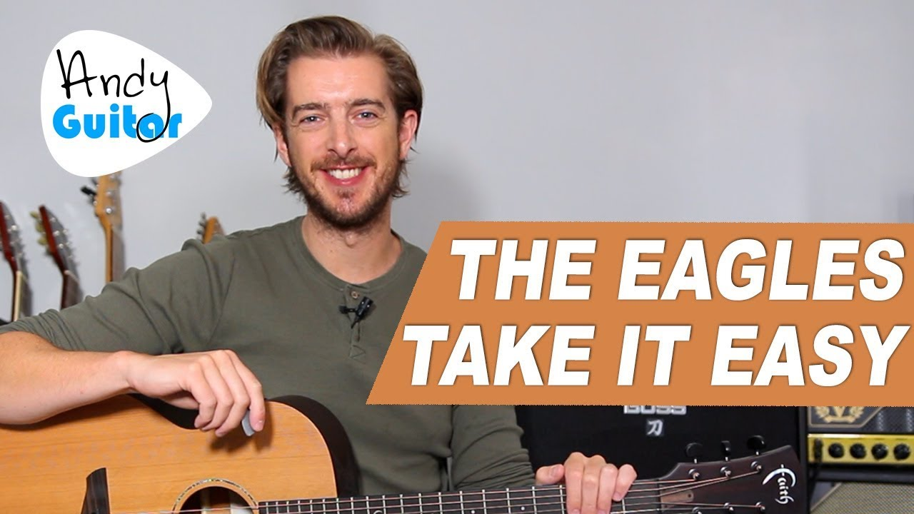 THE EAGLES – 'TAKE IT EASY' Guitar Lesson Tutorial // How to play