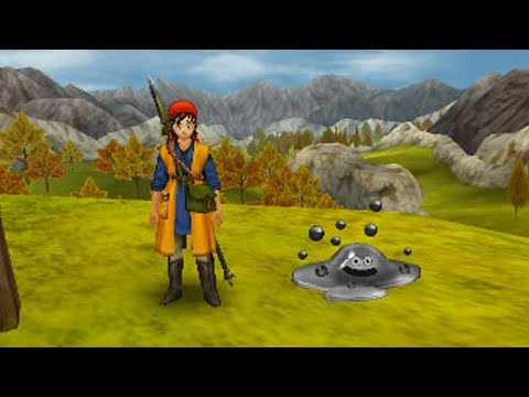 Dragon Quest VIII 3DS EXP Grinding Guide - Metal Slimes