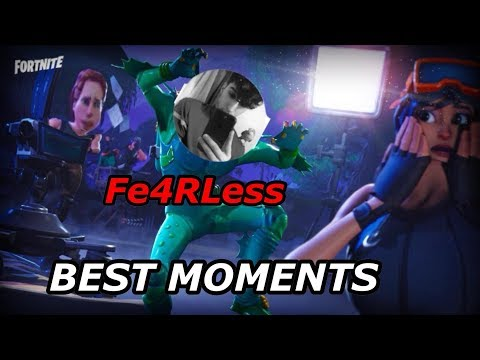 """Fe4RLess"" FUNNIEST FORTNITE MOMENTS (CLEAN)"