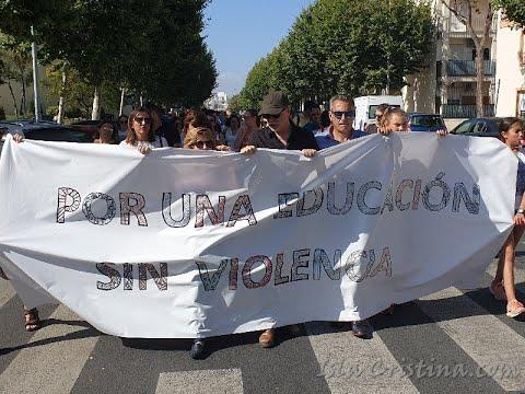 Marcha por una Educación Sin Violencia (IES Padre J Miravent)