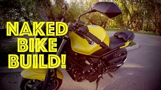 5. Yamaha FZ6R Streetfighter conversion XJ6N - HOW TO