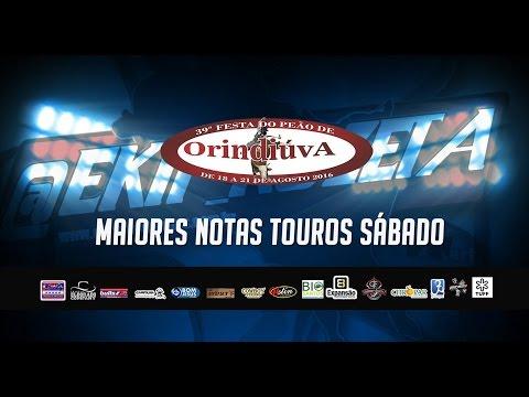 Maiores notas de sábado em Orindiúva - SP (touros)