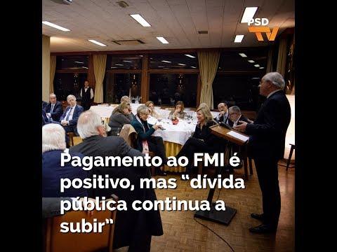"Rui Rio: Pagamento ao FMI é positivo, mas ""dívida pública continua a subir"""