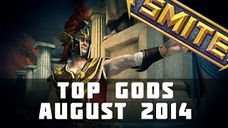 Top Played SMITE Gods (August 2014) | SMITE