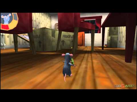 Ratatouille - Gameplay PSP HD 720P (Playstation Portable)