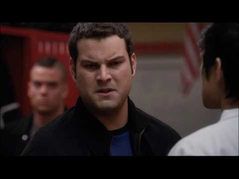 Glee - Sam and Karofsky fight 2x08 (видео)