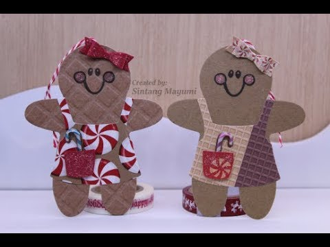 Gingerbread Christmas Tags #5
