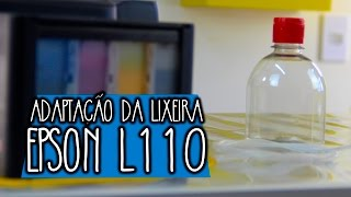 Dando sequência aos vídeos de Dicas sobre a impressora L110, transformando ela numa impressora  Sublimática. Hoje o vídeo é sobre a adaptação de uma lixeira.