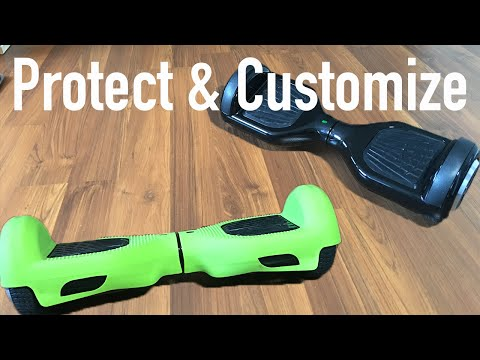 Best way to protect Hoverboard  - Silicone Case