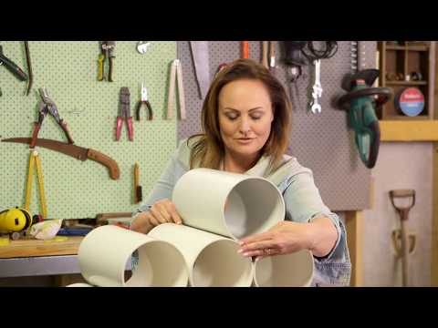 How to Make a PVC Pipe Shoe Rack | The Home Team S5 E19