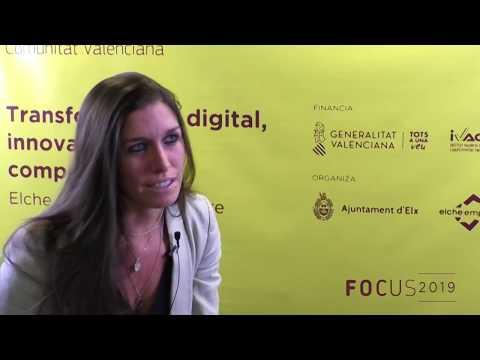 Mónica Rodríguez de KUIKO(Ferrovial Servicios) en Focus Pyme CV 2019