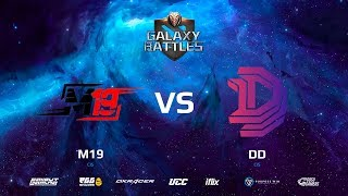 Galaxy Battle || M19 vs Double Dimension || map2 || bo3 || by @DD @Zais