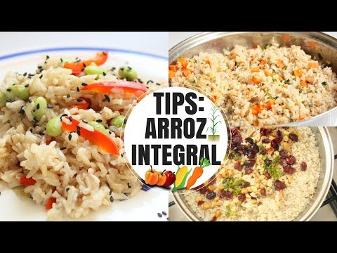 TIPS E IDEAS: ARROZ INTEGRAL -Transición Vegana