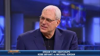 Video Phil Jackson settles the Jordan vs. Bryant debate (2014.01.23) MP3, 3GP, MP4, WEBM, AVI, FLV Mei 2019