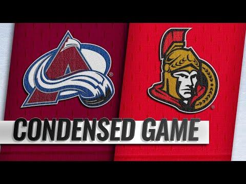 01/16/19 Condensed Game: Avalanche @ Senators
