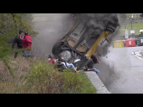 Jolly Rally Valle d\'Aosta 2014 - Big crash