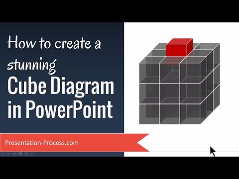 How To Create Stunning 3D Cube Diagram In PowerPoint