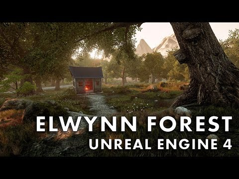 Elwynn Forest in Unreal Engine 4