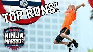 Video American Ninja Warrior Junior: 10 More Amazing Runs from Season 1! | Universal Kids MP3, 3GP, MP4, WEBM, AVI, FLV April 2019