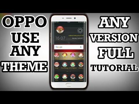 Oppo Create Amazing Themes | Oppo Best Theme Creater