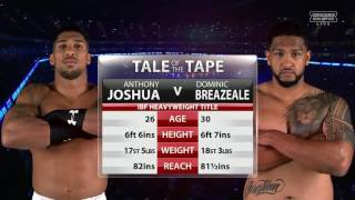 Anthony Joshua vs Dominic Breazeale - Full Fight