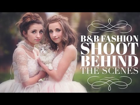 Brooklyn & Bailey Fashion Shoot | Behind the Scenes