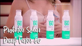 Protetor Solar Dauf Fator 60