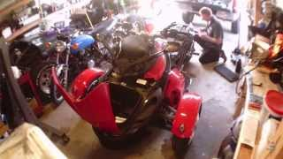 7. 2008 Can Am Spyder body removal - part 1