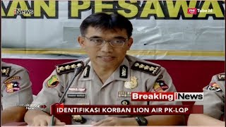 Video Konpers RS Polri Terkait Perkembangan Identifikasi Korban Lion Air PK-LQP - Breaking iNews 06/11 MP3, 3GP, MP4, WEBM, AVI, FLV April 2019