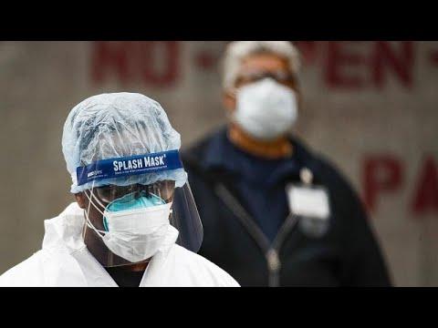 ΗΠΑ: 865 νεκροί το τελευταίο 24ωρο – Εξαντλείται ο προστατευτικός εξοπλισμός…