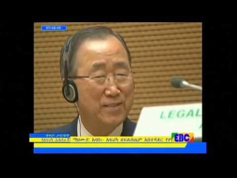 President Mugabe Showers Praise On Un Chief As He Rebukes Body's Lack Of Reform