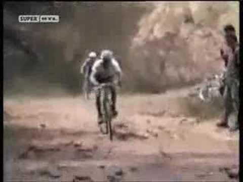 Graciosas caídas sobre ruedas