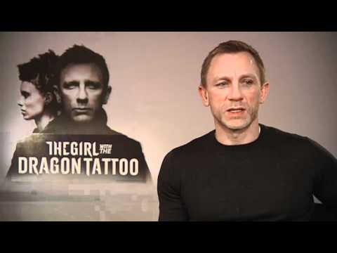 DANIEL CRAIG INTERVIEW - THE GIRL WITH THE DRAGON TATTOO