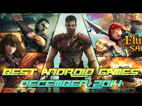 Top 28 Best Android Games of December 2014