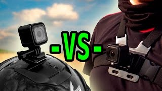 Video GoPro Session CHEST -VS- HELMET Camera Mount MP3, 3GP, MP4, WEBM, AVI, FLV September 2018